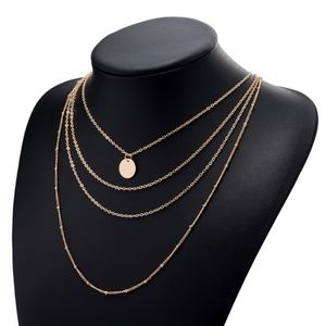 Urban Outfitters Jewelry - Dainty Multilayer Coin Necklace